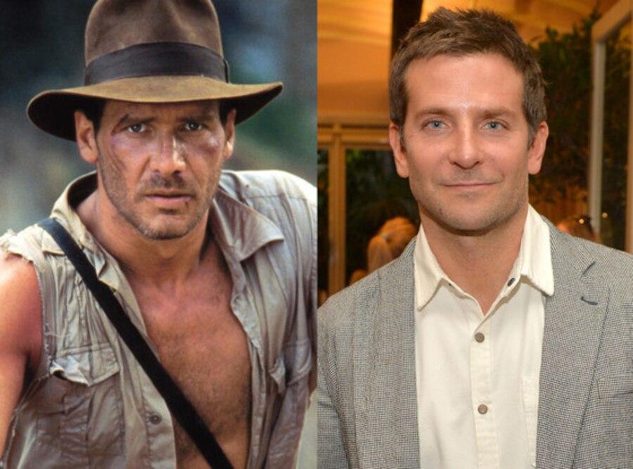 Indiana Jones, Harrison Ford, Bradley Cooper