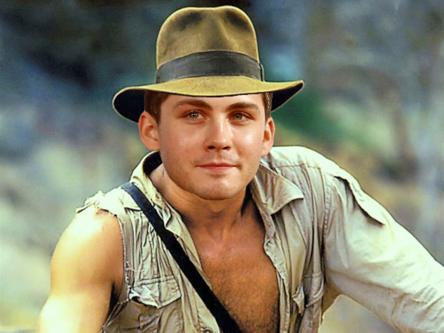 Indiana Jones Photoshop, Logan Lerman