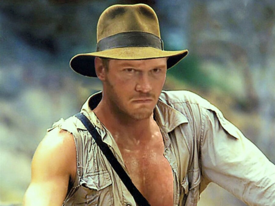 Indiana Jones Photoshop, Chris Pratt