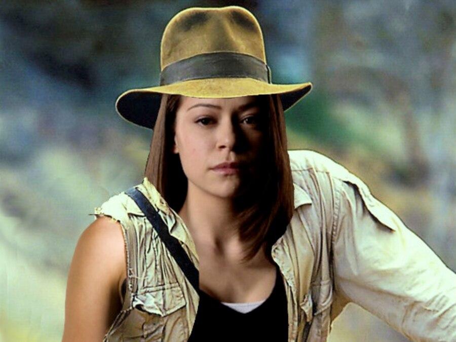 Indiana Jones Photoshop, Tatiana Maslany