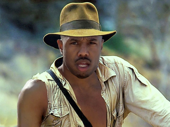 Indiana Jones Photoshop, Michael B. Jordan