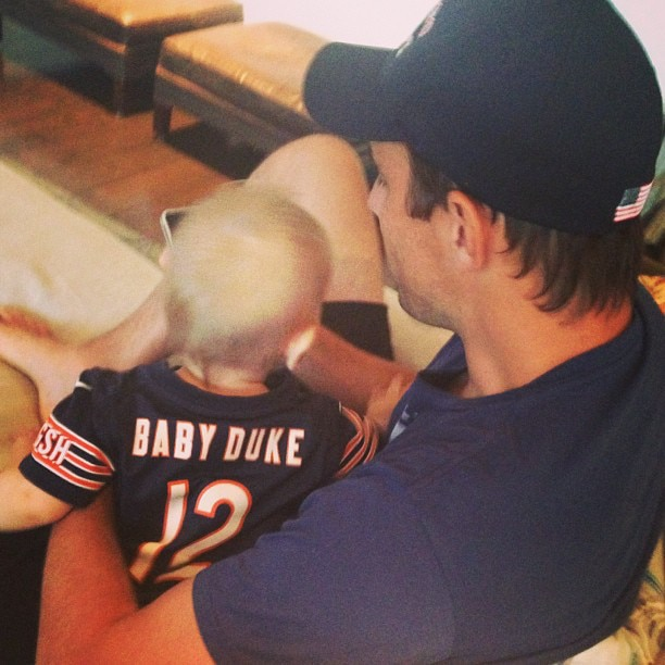 Bill Rancic and Baby Duke: Like Father, Like Son