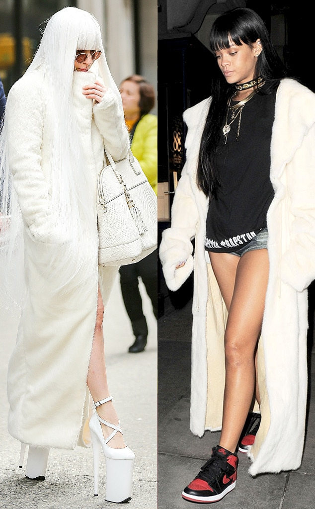 Lady Gaga, Rihanna