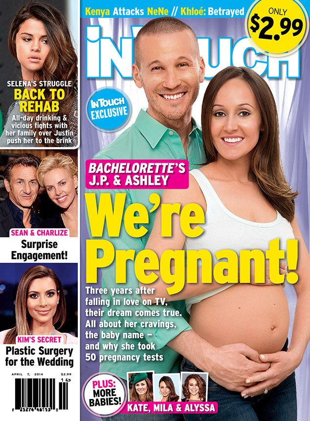 InTouch Weekly, JP Rosenbaum, Ashley Hebert