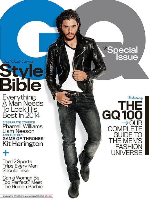 Kit Harington, GQ Magazine