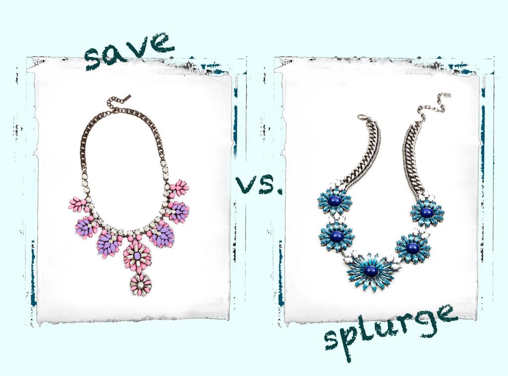 Save vs. Splurge