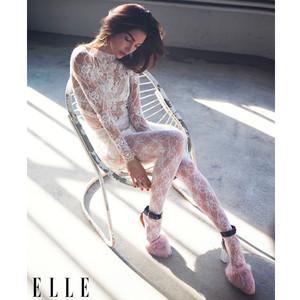 Lily Aldridge Stuns in Feminine Spring Ensembles for <i>Elle</i>&mdash;See the Gorgeous Pics!