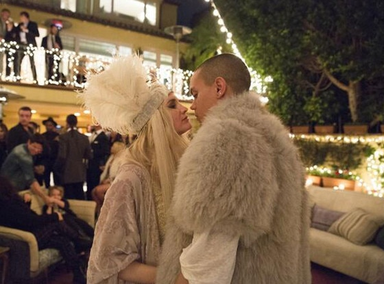 Ashlee Simpson, Evan Ross, Twitter