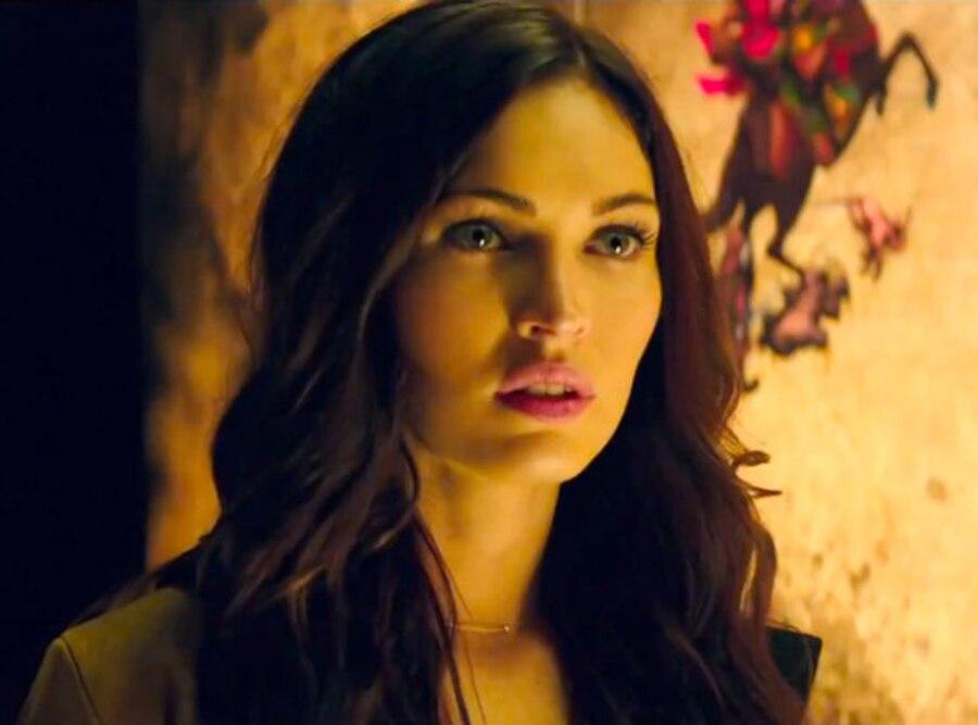 Megan Fox, Teenage Mutant Ninja Turtles, Trailer Screengrab
