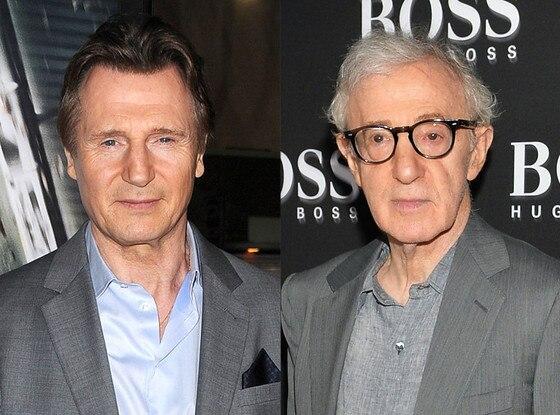 Liam Neeson, Woody Allen