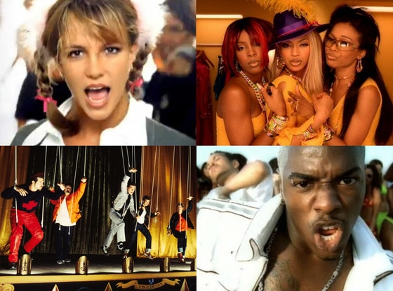 Britney Spears, Sisqo, Destiny's Child, NYSNC, Videos