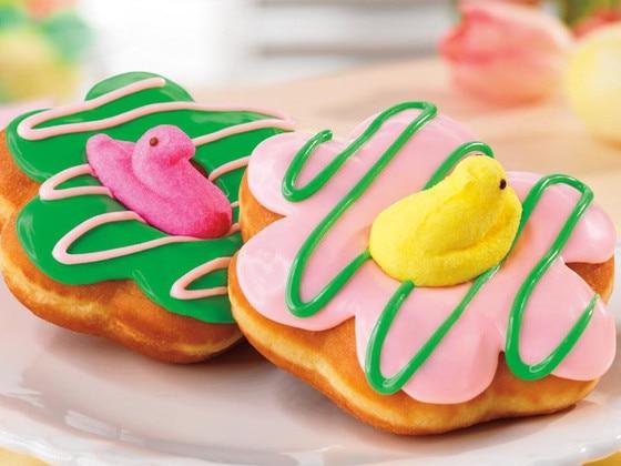 Peep Dunkin' Donuts