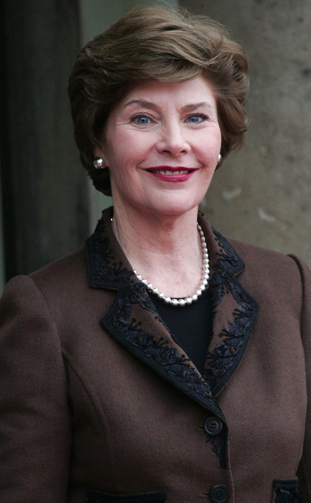 laura bush from celebs who ve killed people e news