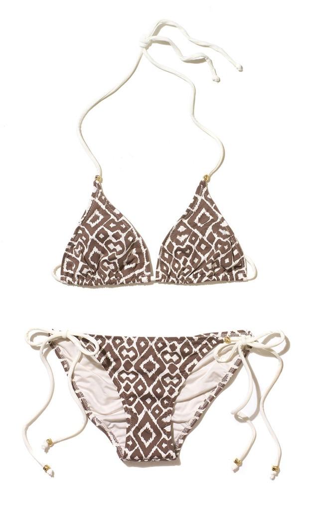 Hilary Duff, Coachella, Eberjey Ikat Bikini