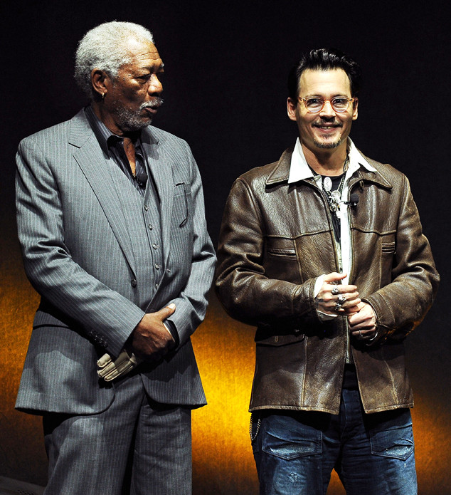 Johnny Depp, Morgan Freeman