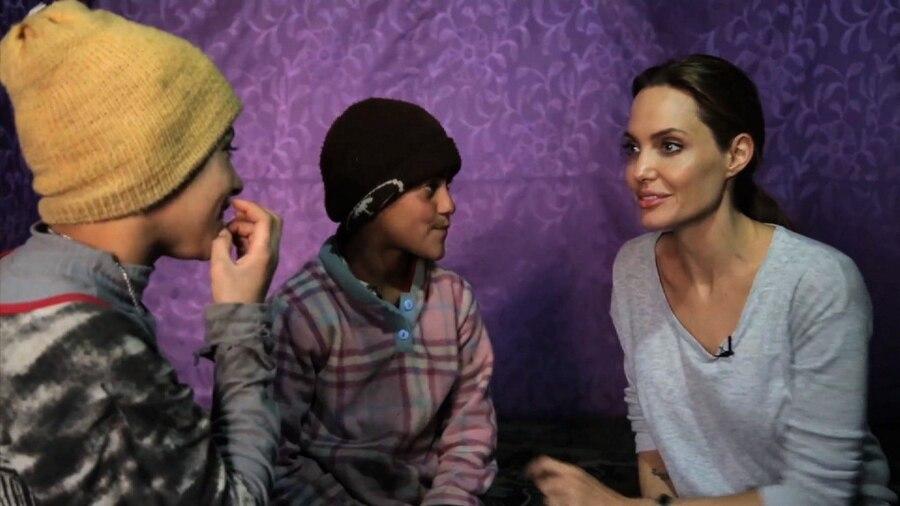 Angelina Jolie, CNN