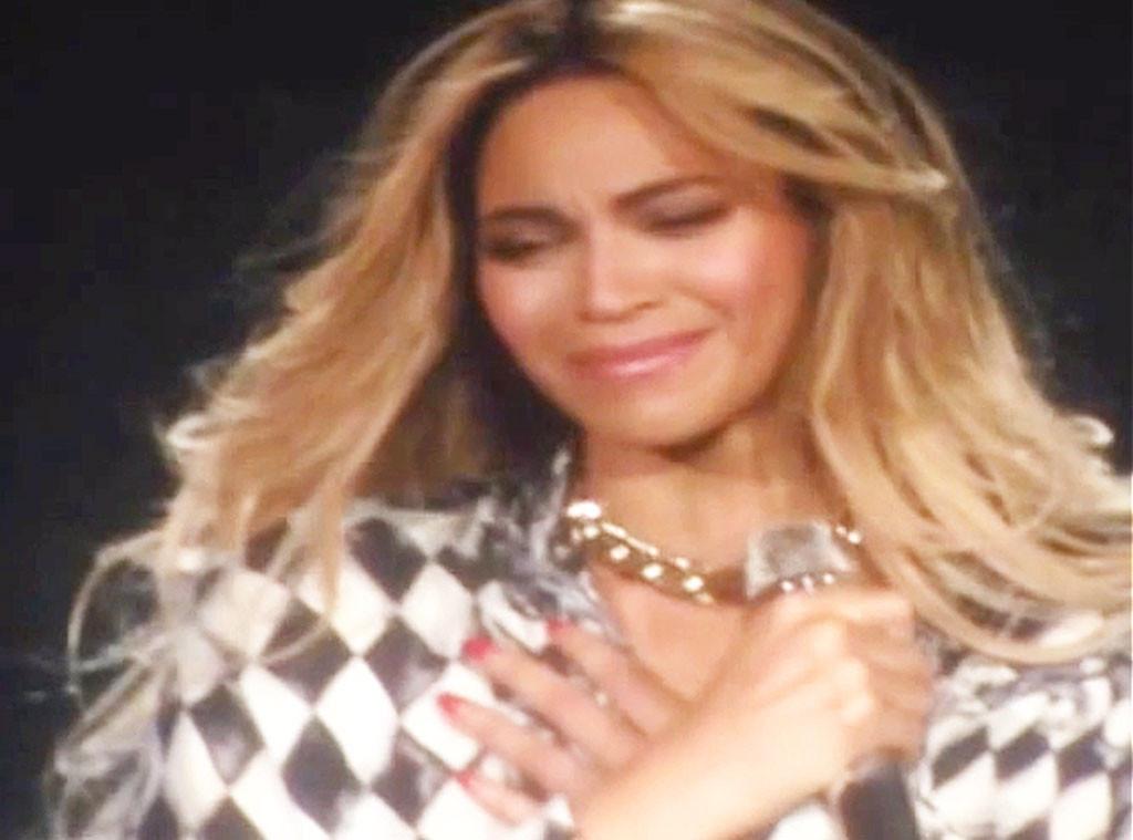 Beyonce, Crying
