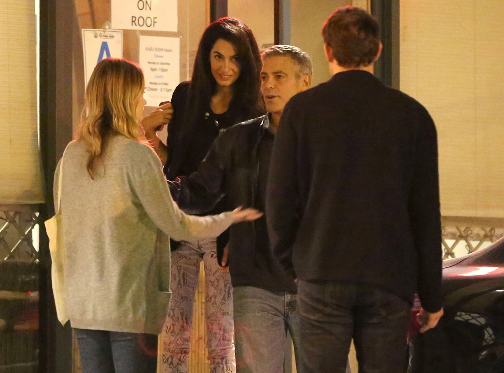 Emily Blunt, George Clooney, Amal Alamuddin, John Krasinski