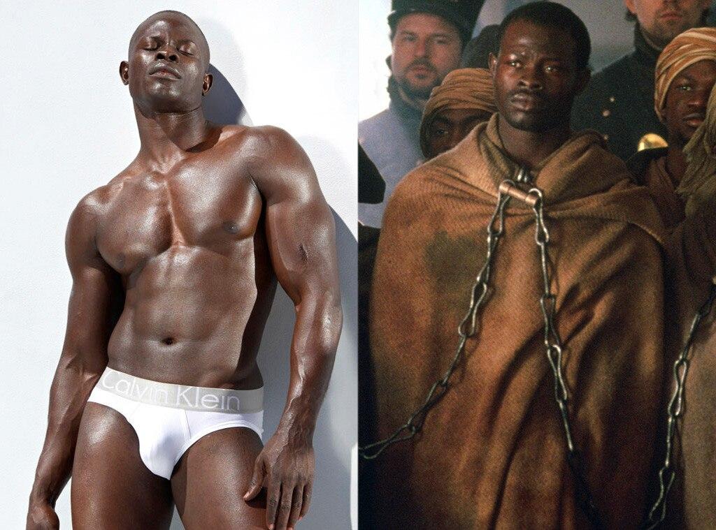 Djimon Hounsou, Calvin Klein, Amistad