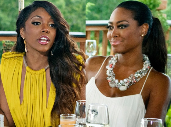 Porsha Stewart, Kenya Moore, Real Housewives Fights