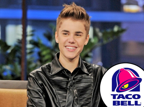 Justin Bieber, Taco Bell