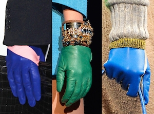 DSquared2, Christian Dior, Missoni, Fabulist Driving Gloves