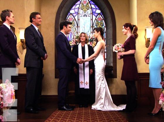 Cristin milioti wedding dress