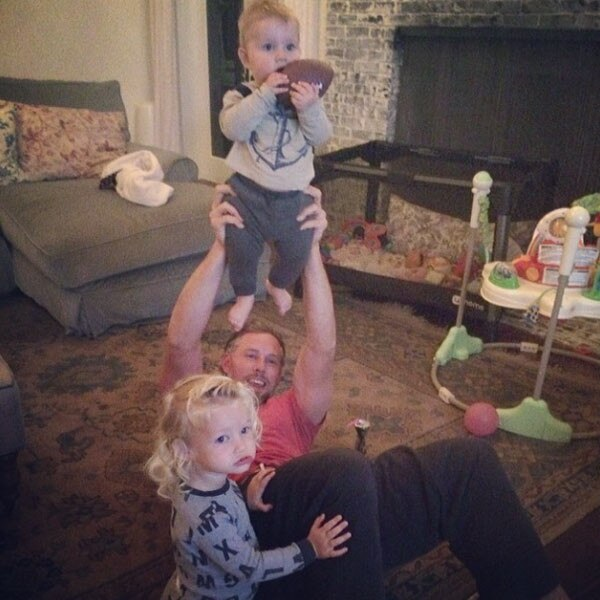 Jessica Simpson, Instagram, Maxwell, Ace, Eric Johnson