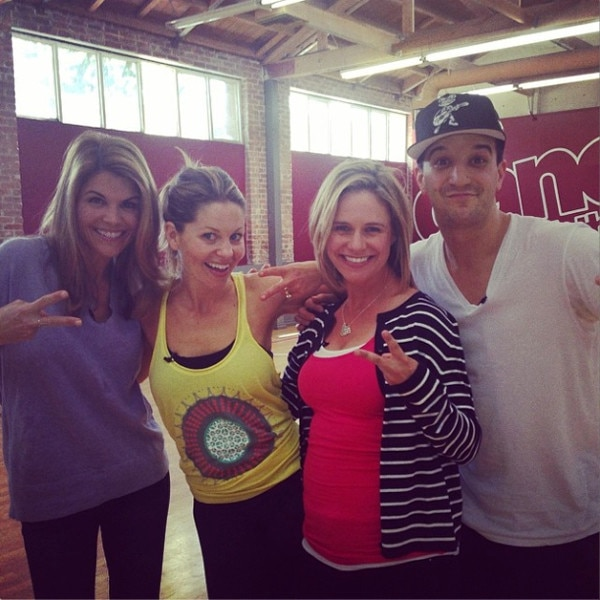 Lori Loughlin, Candice Cameron Bure, Andrea Barber, Full House, DWTS, Instagram