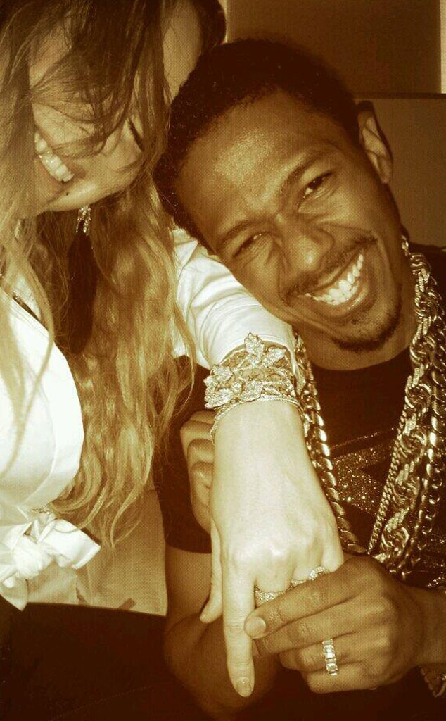 Mariah Carey, Nick Cannon, Twitter