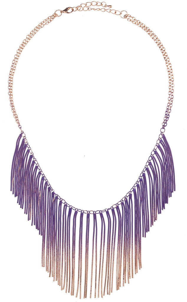 Coachella Fashion, Fringe Necklace