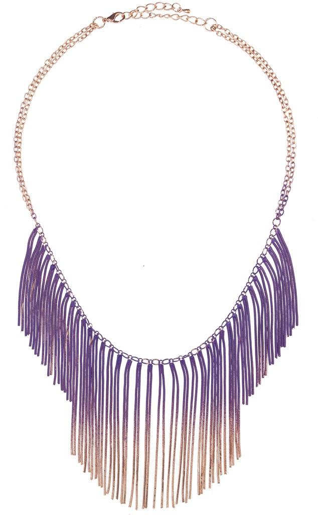 Coachella Fashion, Fringe Necklace
