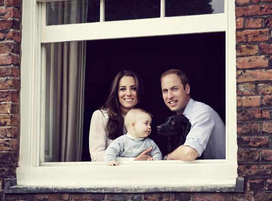 Prince George, Duchess Catherine, Kate Middleton, Duke William, Prince William, Lupo