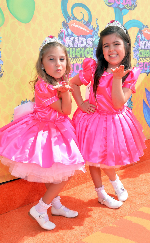 Sophia Grace Brownlee, Rosie Grace McClelland, Kids Choice Awards 2014