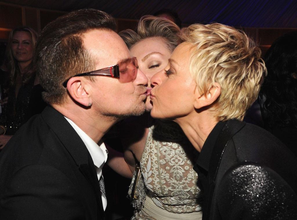 Bono, Portia de Rossi, Ellen DeGeneres, Vanity Fair, Oscars