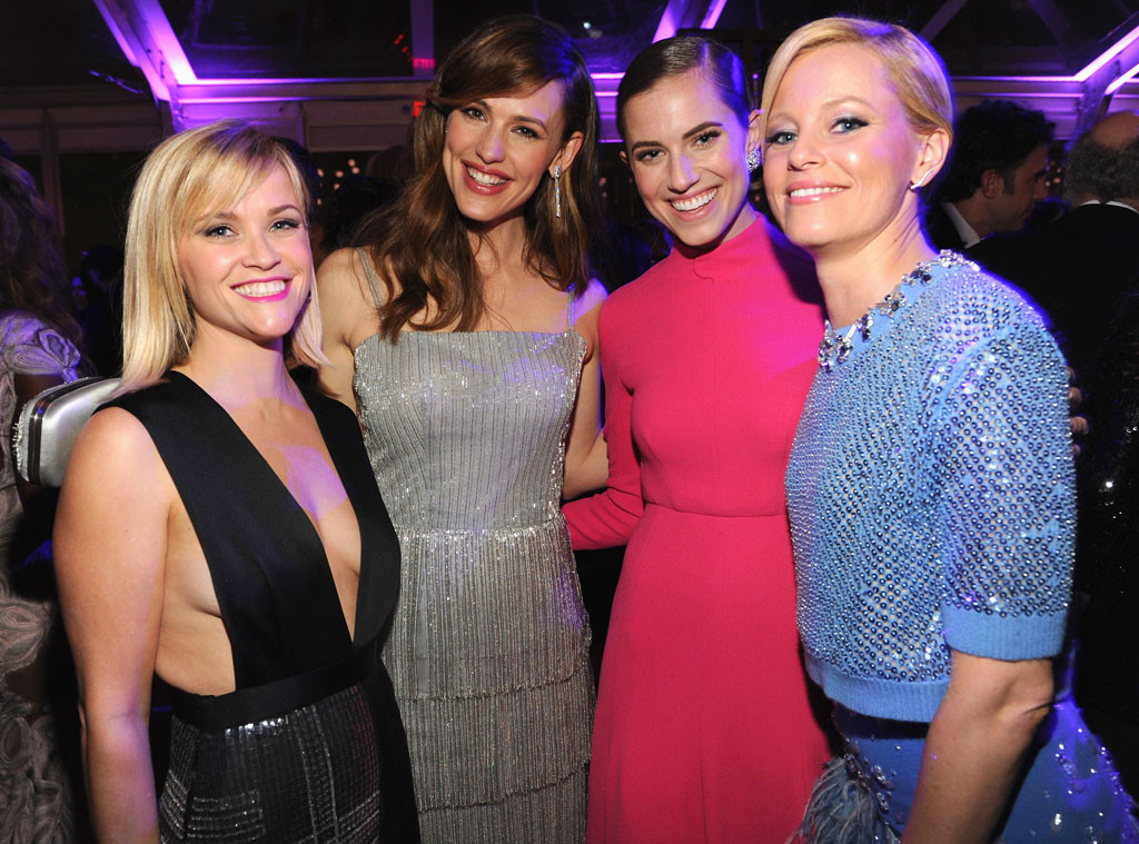 Reese Witherspoon, Jennifer Garner, Allison Williams, Elizabeth Banks, Oscars, Vanity Fair