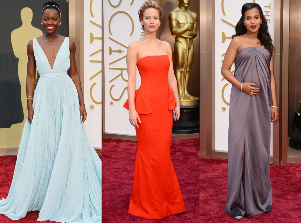 Lupita Nyong'o, Jennifer Lawrence, Kerry Washington, Beauty, Oscars
