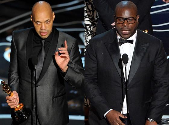 Steve McQueen, John Ridley, Oscars Winners