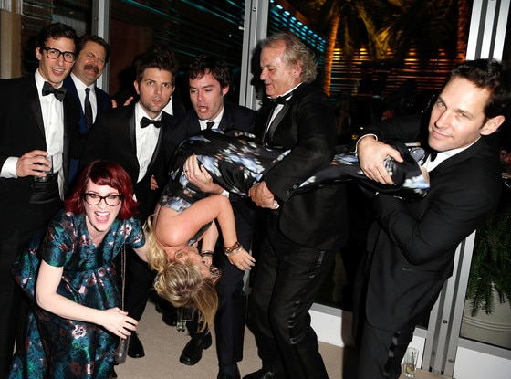 Amy Poehler, Andy Samberg, Bill Hader, Bill Murray, Paul Rudd