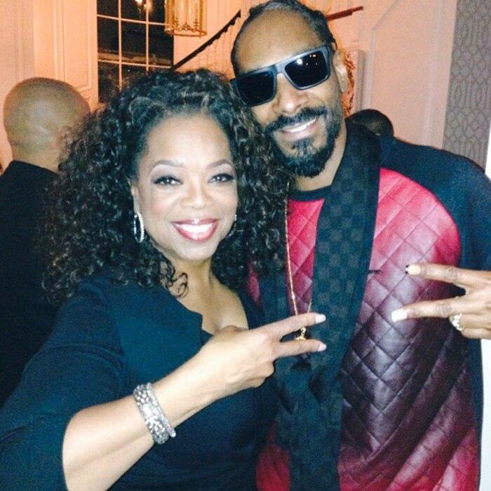 Oprah Winfrey, Snoop Dogg, Instagram