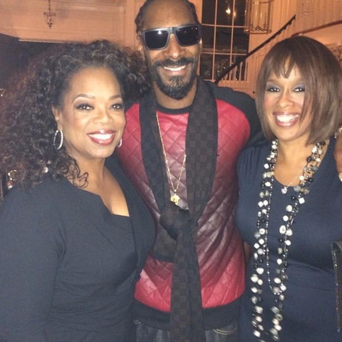 Oprah Winfrey, Gayle King, Snoop Dogg, Instagram