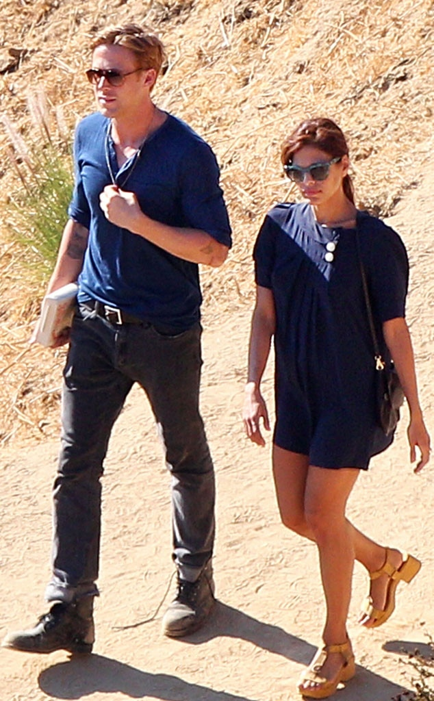 Hollywood Sights from Ryan Gosling and Eva Mendes: Romance ...