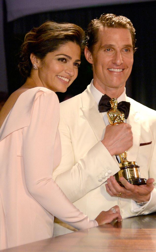 Camila Alves, Matthew McConaughey, Governors Ball, Oscars