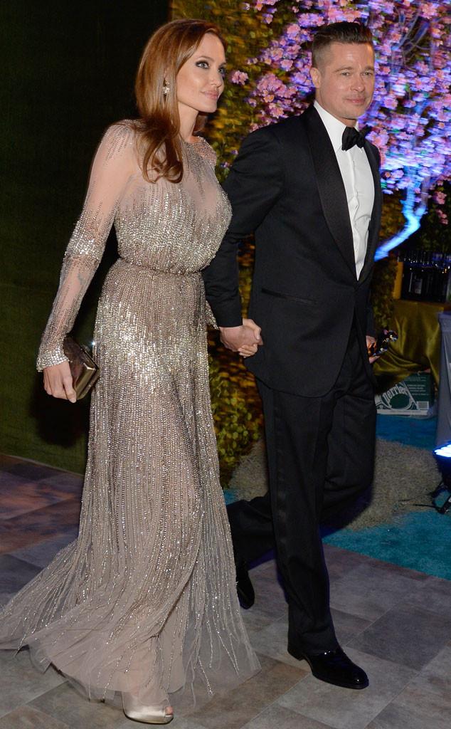Brad Pitt, Angelina Jolie, Governors Ball, Oscars
