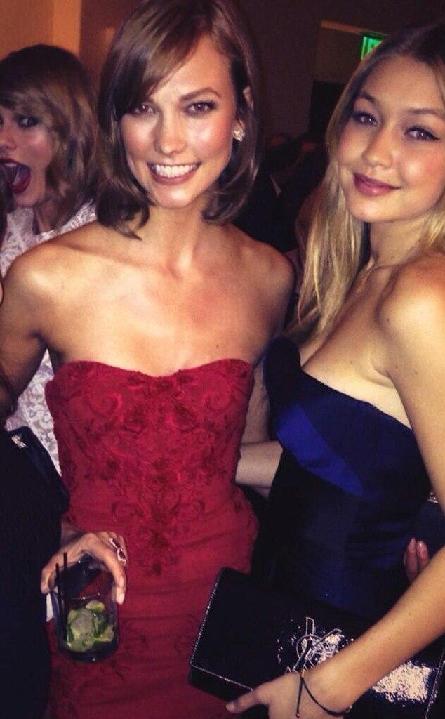 Gigi Hadid, Karlie Kloss, Twitter