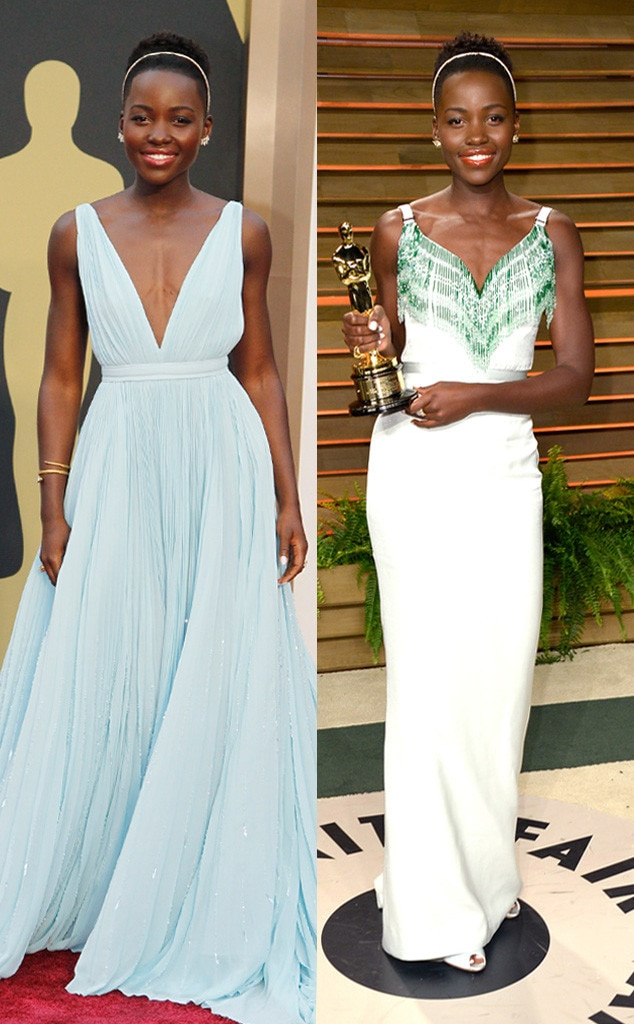 Lupita Nyong'o, Oscars, After Party Dresses