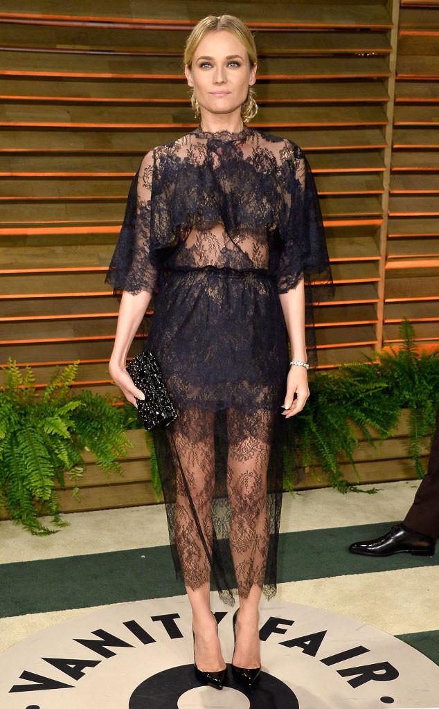 Diane Kruger, Oscars, After Party Dresses