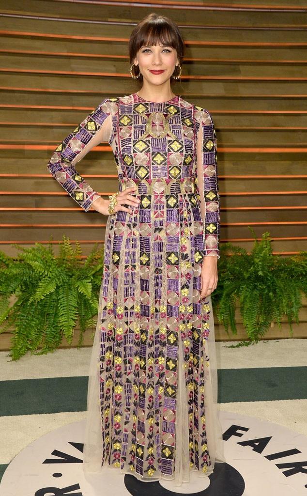 Rashida Jones, Oscars, After Party Dresses