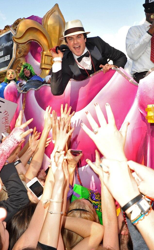 Ian Somerhalder, Mardi Gras