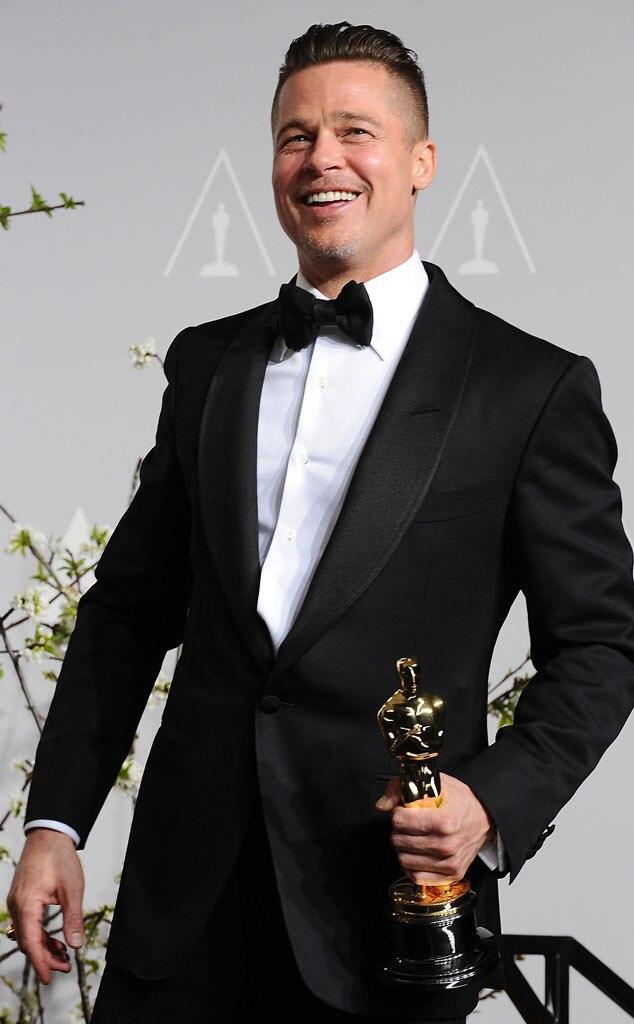 Brad Pitt : Je n'aurais jamais cru gagner un Oscar | E ... брэд питт оскар